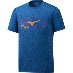 Mizuno Impulse Core T-shirt Homme, mazzarine blue